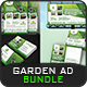 Garden Landscape Advertising Bundle Vol.2 - GraphicRiver Item for Sale