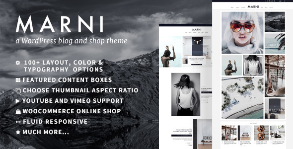 Image of Marni – a WordPress Blog & Shop Theme