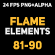 Liquid Elements 2 Flames 81-90 - VideoHive Item for Sale