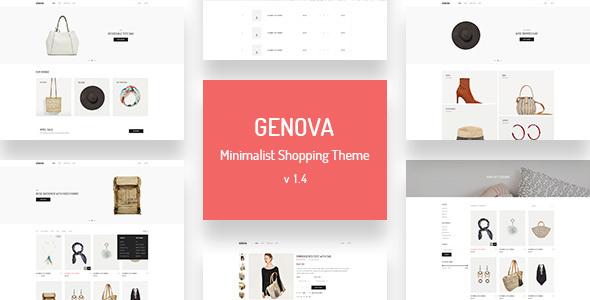Image of Genova - Minimalist AJAX WooCommerce WordPress Theme