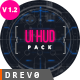 UI Future Pack v1.2 / Monthly FREE Update HUD Pack - VideoHive Item for Sale