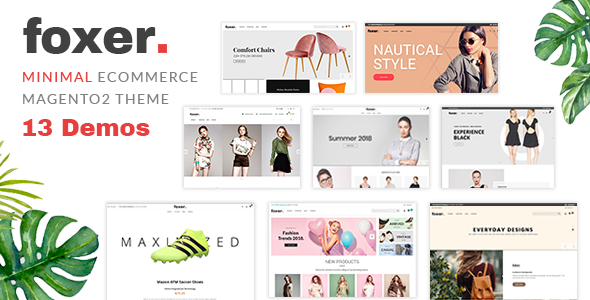foxer - minimalist ecommerce magento2 theme (magento) Foxer – Minimalist eCommerce Magento2 Theme (Magento) a