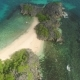 Seascape of Caramoan Islands at Camarines Sur in Philippines - VideoHive Item for Sale