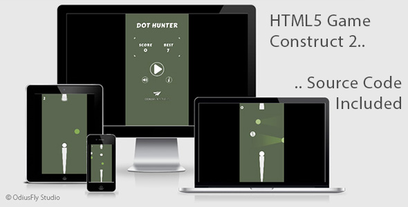 Dot Hunter - HTML5 Game (Construct 2)            Nulled
