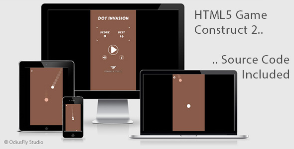 Dot Invasion - HTML5 Game (Construct 2)            Nulled