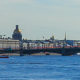 Panorama of the Trinity Bridge in St. Petersburg - VideoHive Item for Sale