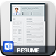 Professional Resume & Cover Letter - GraphicRiver Item for Sale