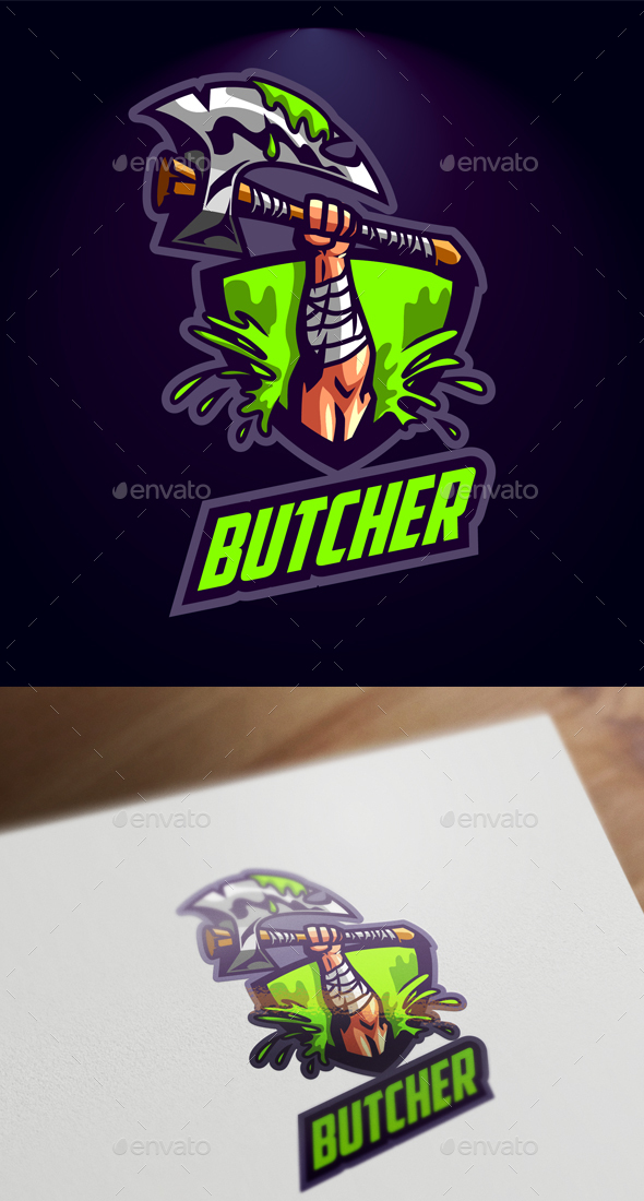 Esport Axe Logo - Sports Logo Templates