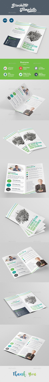DL Bi-Fold Brochure Template - Brochures Print Templates