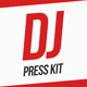 DJ Press Kit / DJ Resume / DJ Rider PSD Template