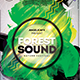 Forest Sound Photoshop Flyer Template - GraphicRiver Item for Sale