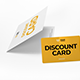 Multipurpose Card Holder & Discount Card Mockup