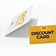 Multipurpose Card Holder & Discount Card Mockup - GraphicRiver Item for Sale