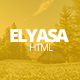 Elyasa - Creative Coming Soon Template