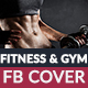 Fitness & Gym Facebook Cover - GraphicRiver Item for Sale