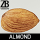 Almond 004 - 3DOcean Item for Sale