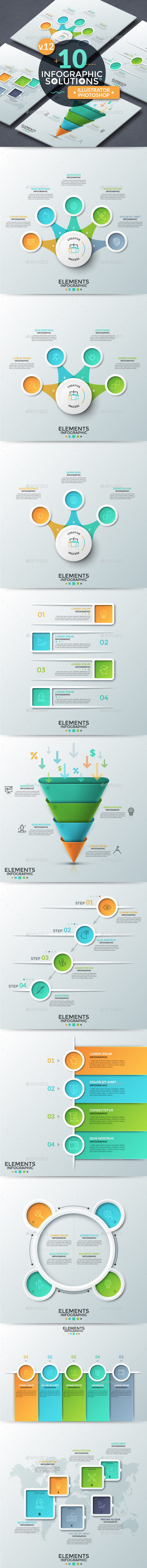 Infographic Solutions. Part 12 - Infographics