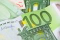 Closeup of 100 euro banknote - PhotoDune Item for Sale