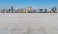 empty concrete square floor with shanghai cityscape - PhotoDune Item for Sale
