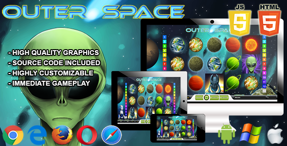 Outerspace - HTML5 Casino Game - CodeCanyon Item for Sale