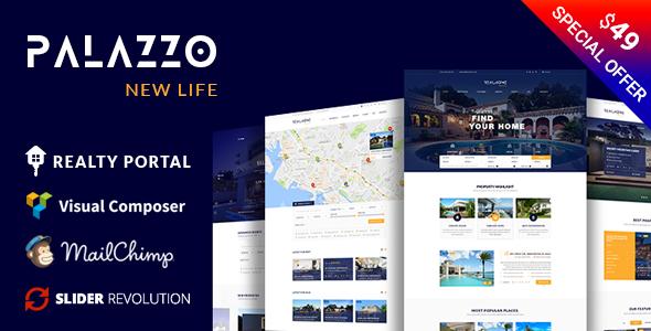 Image of Palazzo - Real Estate WordPress Theme
