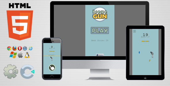 trezeGun - HTML5 Flip Game - CodeCanyon Item for Sale