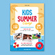 Kids Summer Camp - GraphicRiver Item for Sale