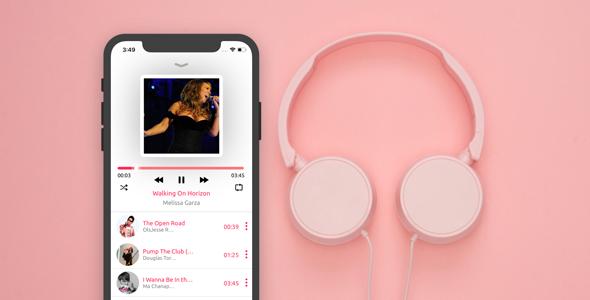 Smart Music IOS Swift Laravel Restful Api