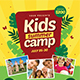 Summer Kids Camp Flyer - GraphicRiver Item for Sale