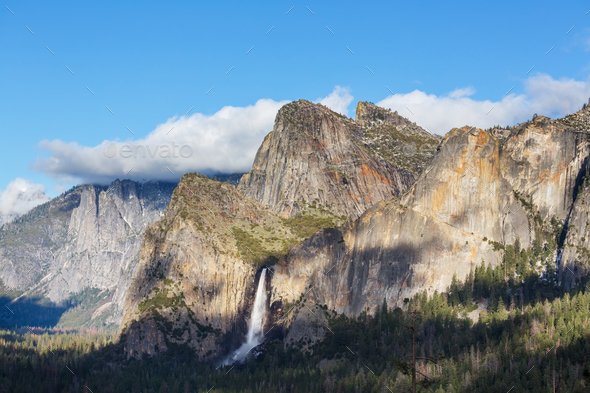Early spring in Yosemite - Stock Photo - Images