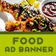 Food Business Ad Banners - AR - GraphicRiver Item for Sale
