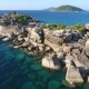 Amazing Huge Stones at Similan Island Cape.  . Andaman Sea, Thailand. - VideoHive Item for Sale