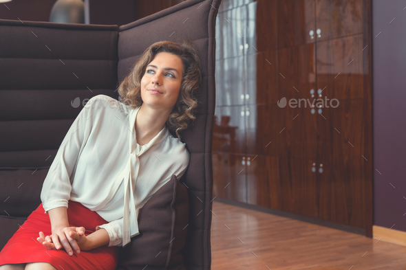 Young attractive businesswoman - Stock Photo - Images
