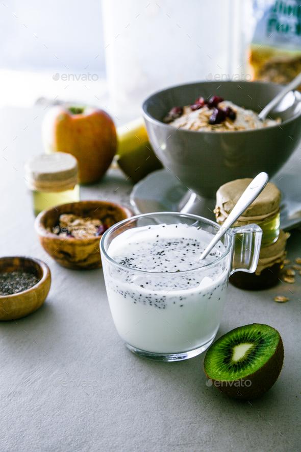 Cereals breakfast - Stock Photo - Images