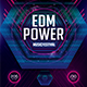 EDM Power Photoshop Flyer/Poster Template - GraphicRiver Item for Sale