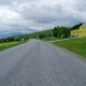 Driving a Car on a Road in Norway - VideoHive Item for Sale