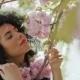 Gorgeous Woman Enjoy Sakura Flowers - VideoHive Item for Sale