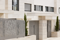 Modern residential building entrance. Estate property. Marble stone. Construction. Horizontal - PhotoDune Item for Sale