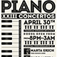 Piano Concerto Flyer Template V5 - GraphicRiver Item for Sale