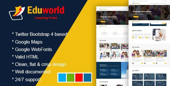Eduworld - Education, Academy & Training Courses - Business Corporate