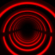 Red Neon Lights Infinity Tunnel - VideoHive Item for Sale