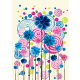 Floral background in vibrant beautiful shades - GraphicRiver Item for Sale