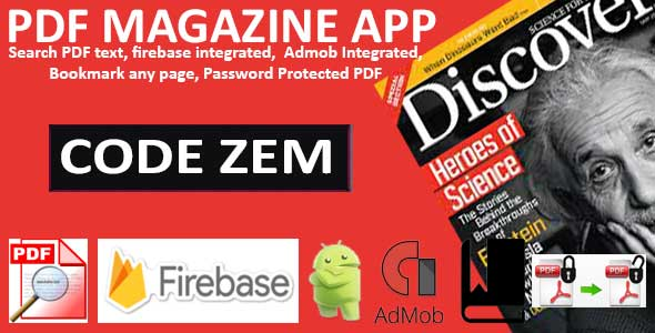 PDF Magazine App for Android - CodeCanyon Item for Sale