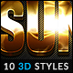10 3D Styles vol. 07 - GraphicRiver Item for Sale