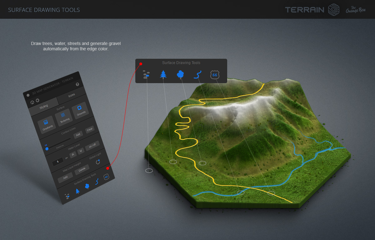 D Map Generator Terrain From Heightmap By OrangeBox GraphicRiver - Color map generator