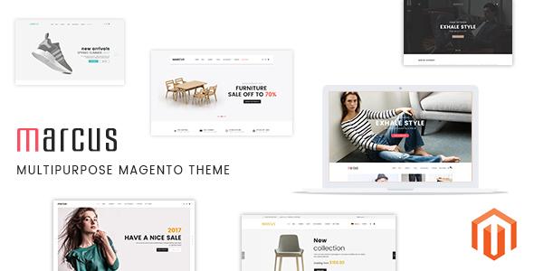 Marcus - Premium Multipurpose Magento Theme - Magento eCommerce
