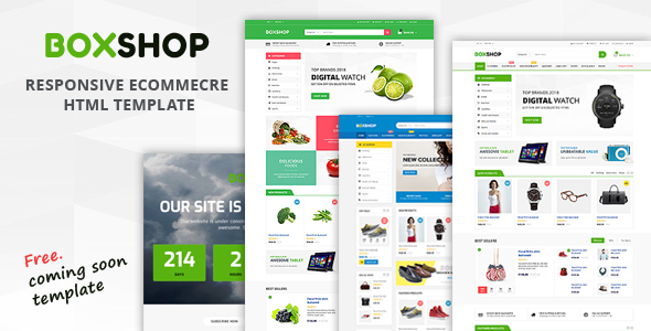 Image of Boxshop - Responsive Ecommerce HTML5 Template