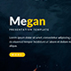 Megan Professinal Google Slide Template - GraphicRiver Item for Sale