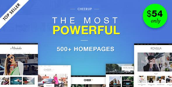 CheerUp Blog / Magazine - WordPress Blog Theme - Personal Blog / Magazine