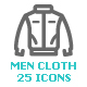 Clothing Man Mini Icon - GraphicRiver Item for Sale